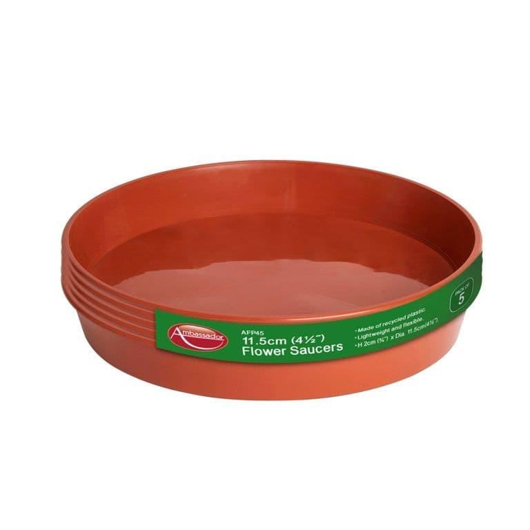 """Ambassador Flower Pot Saucer - 3-4"""" - Pack 5"""